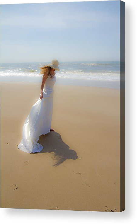 Topsail Acrylic Print featuring the photograph My Shadow Follows Me by Betsy Knapp