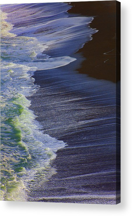 Ocean Acrylic Print featuring the photograph Ocean Waves by Garry Gay