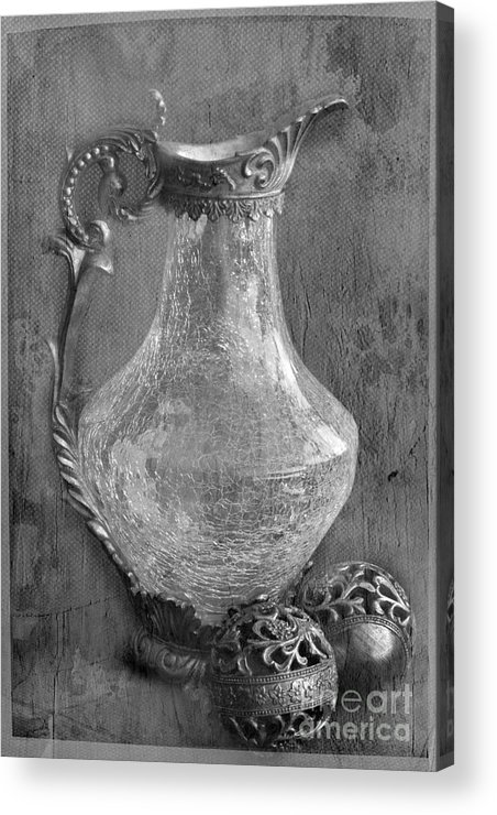 Jug Acrylic Print featuring the photograph Old Jug by Taschja Hattingh
