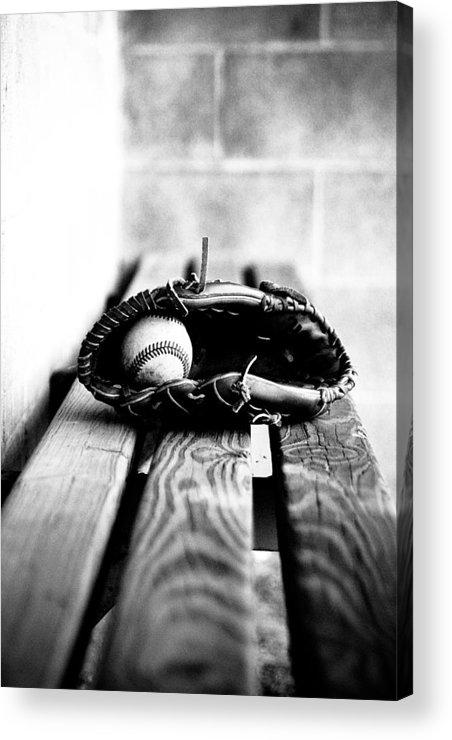 Glove Acrylic Print featuring the photograph Play Ball by Susan Schumann