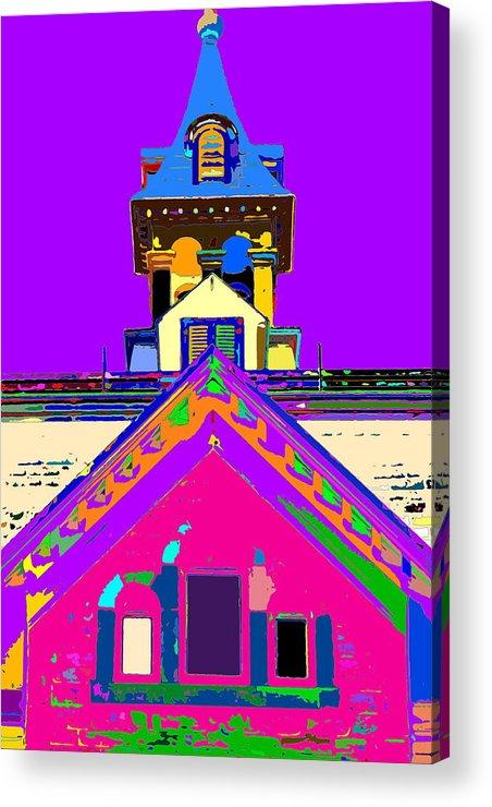 Church Acrylic Print featuring the photograph Playhouse by Burney Lieberman