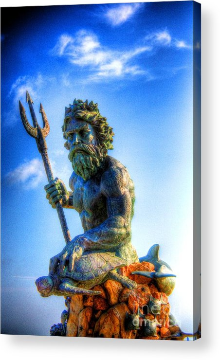 Ancient Acrylic Print featuring the photograph Poseidon by Dan Stone