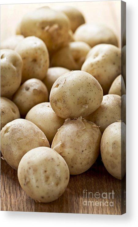 Potatoes Acrylic Print featuring the photograph Potatoes by Elena Elisseeva