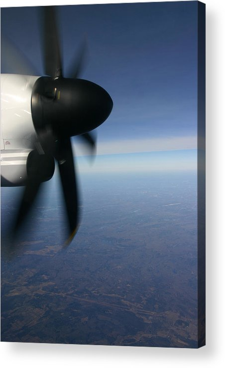 Above Acrylic Print featuring the photograph Prop by Kim French