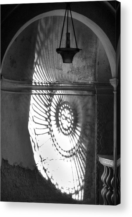 Architecture Acrylic Print featuring the photograph Quiet Reflection by Michele Taylor Hamilton