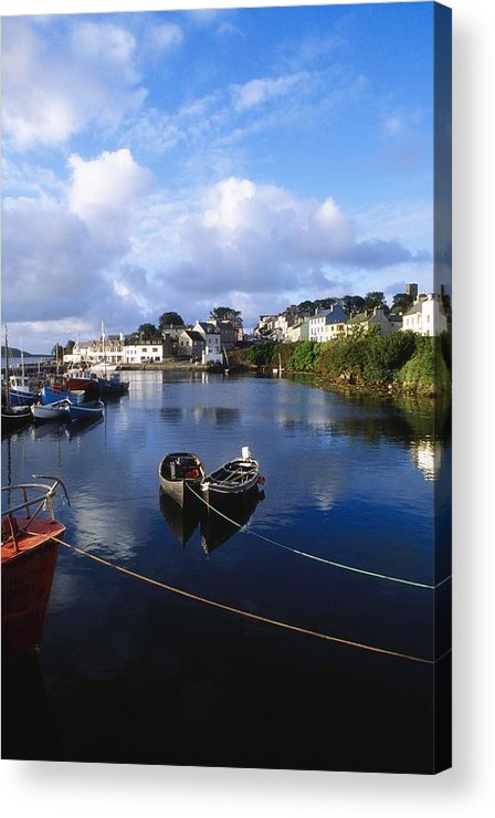 Co Galway Acrylic Print featuring the photograph Roundstone, Connemara, Co Galway by The Irish Image Collection