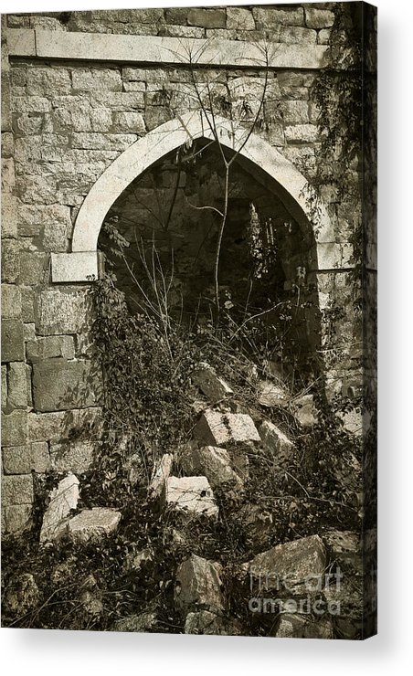 Ruins Acrylic Print featuring the photograph Saint Johns Chapel Four by Susan Isakson