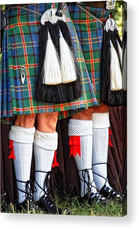 Scottish Acrylic Print featuring the photograph Scottish Festival 4 by Dawn Eshelman