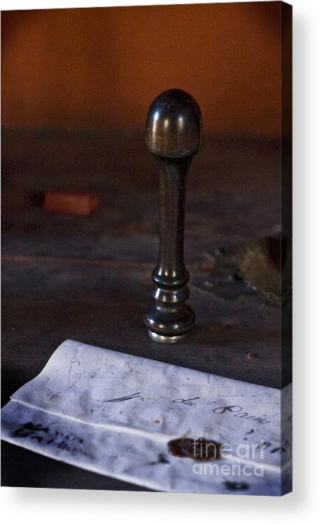 Fort St. Jean Baptiste Acrylic Print featuring the photograph Sealed by Kim Henderson