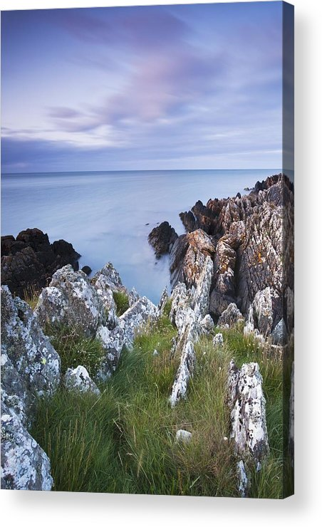 Clogherhead Acrylic Print featuring the photograph Seascape From Coast Of Clogherhead by Peter McCabe