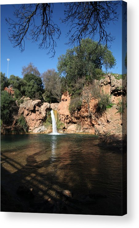 Jezcself Acrylic Print featuring the photograph So Serene by Jez C Self