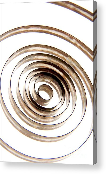 Circle Acrylic Print featuring the photograph Spiral by Bernard Jaubert