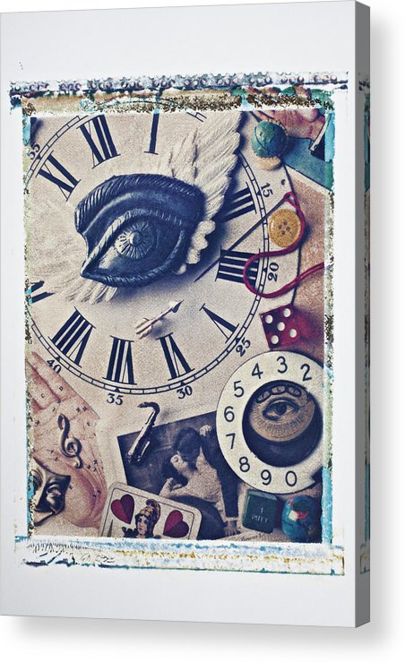 Stitch Acrylic Print featuring the photograph Stitch In Time by Garry Gay