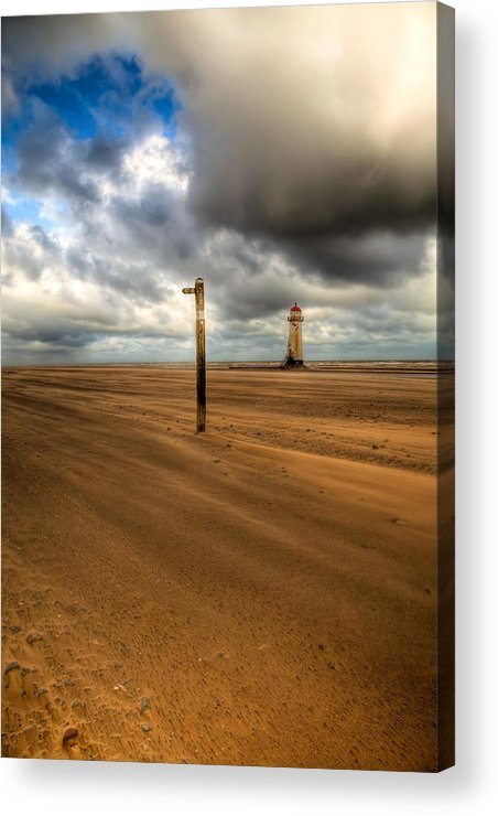 Hdr Acrylic Print featuring the photograph Storm Brewing by Adrian Evans