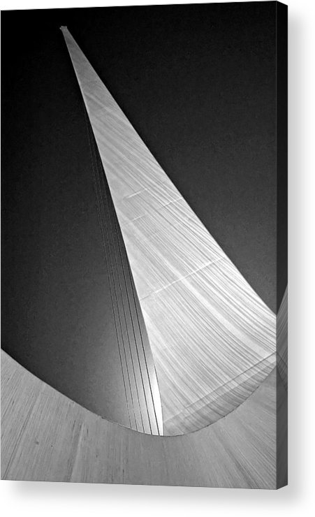 Architectural Photography Acrylic Print featuring the photograph Sundial Bridge Three by Andre Salvador