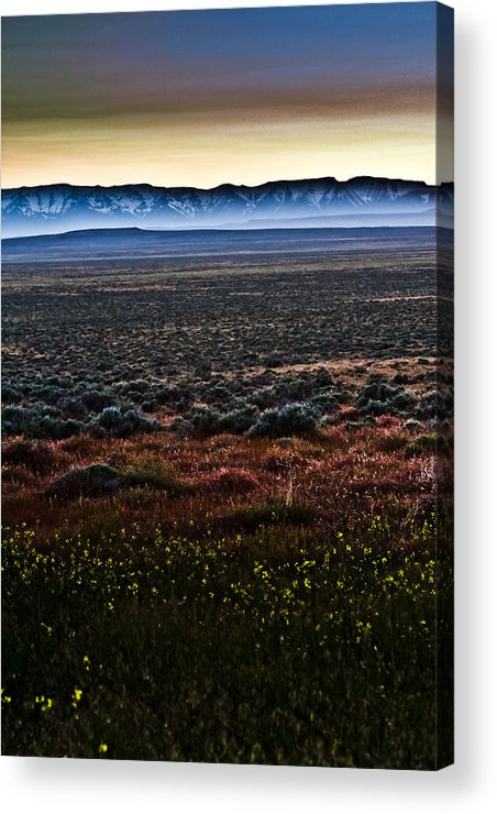 Sunset Acrylic Print featuring the photograph Sunset Mist by Jen TenBarge