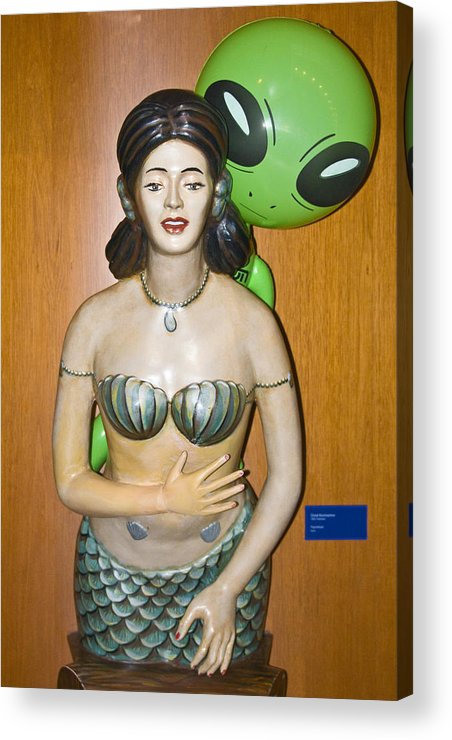 Alien Mermaid Acrylic Print featuring the photograph Sweet Nothings by Richard Henne