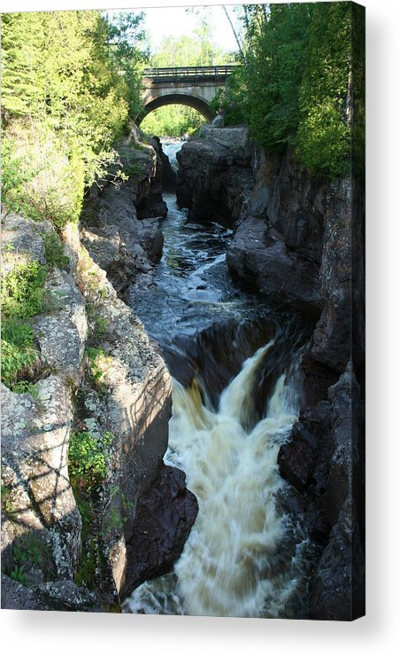 Acrylic Print featuring the photograph Temperance River 3 by Joi Electa