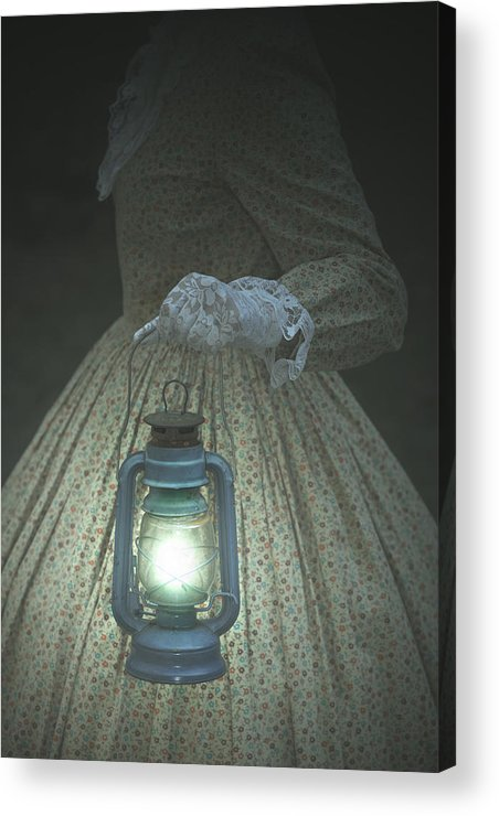 Female Acrylic Print featuring the photograph The Light by Joana Kruse