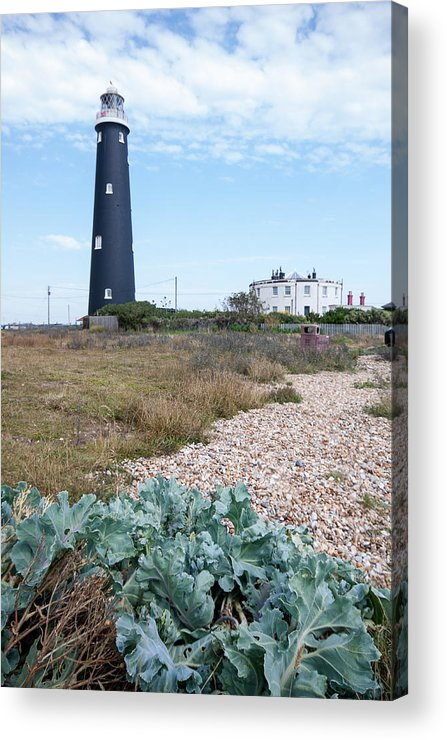 Boat Acrylic Print featuring the photograph The Old Lighthouse by Dawn OConnor