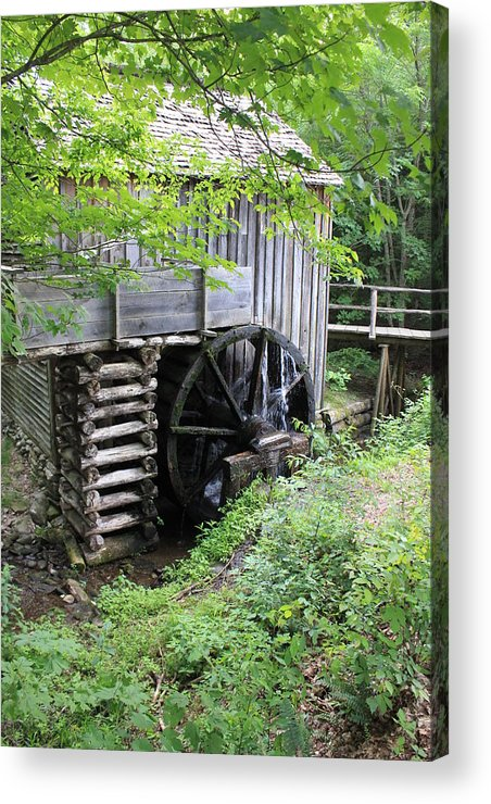 Mill Acrylic Print featuring the photograph The Old Mill by David White
