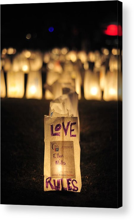 Love Acrylic Print featuring the photograph The Truth by Armando Perez