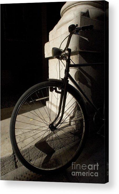 Verona Acrylic Print featuring the photograph Verona Bike by Alex Rowbotham