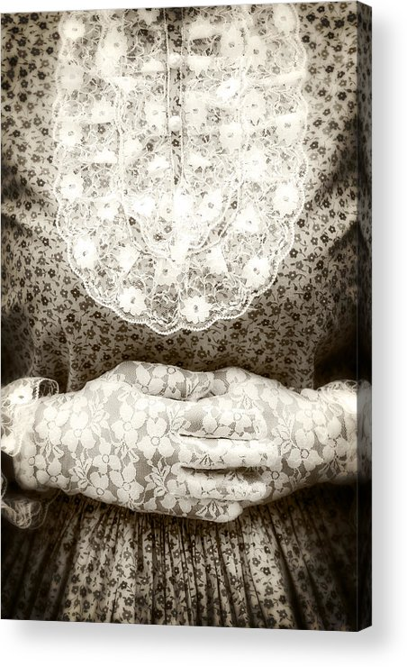 Female Acrylic Print featuring the photograph Victorian Hands by Joana Kruse