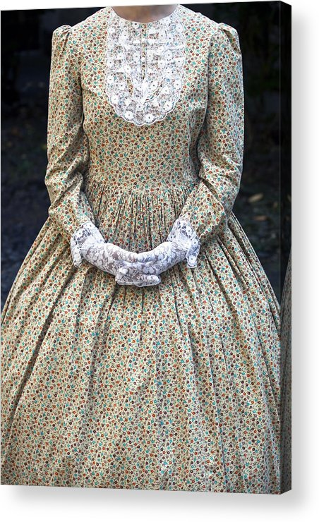 Female Acrylic Print featuring the photograph Victorian Lady by Joana Kruse