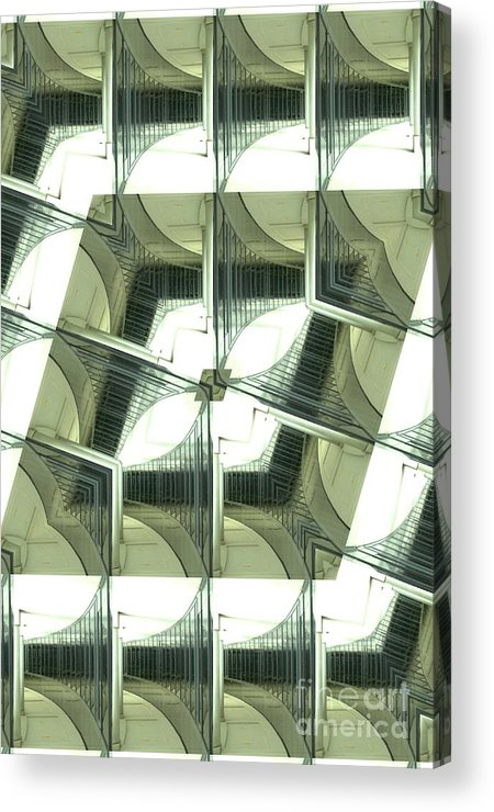 Window Acrylic Print featuring the photograph Window Mathematical 2 by Donna Brown
