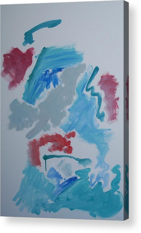 Different Acrylic Print featuring the painting You Have To Change To Stay The Same - by Jay Manne-Crusoe