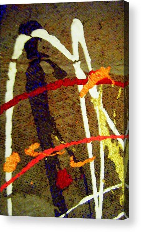 Acrylic Print featuring the photograph   Autumn Joy by Mildred Ann Utroska    Mauk