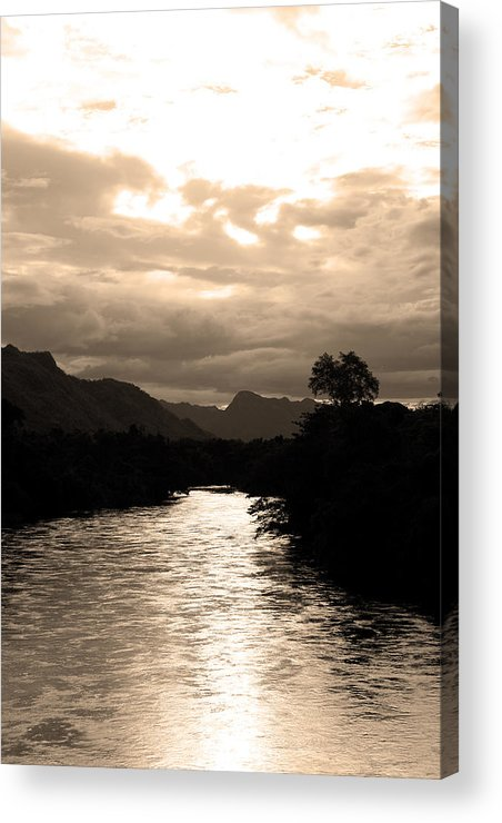 River Acrylic Print featuring the photograph 08004 by Jeffrey Freund