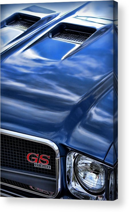 1970 Acrylic Print featuring the photograph 1970 Buick Gs 455 by Gordon Dean II
