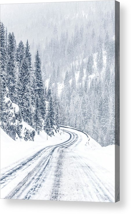 Kremsdorf Acrylic Print featuring the photograph As Far As Dreams Can Go 1 by Evelina Kremsdorf