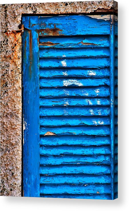 Blue Acrylic Print featuring the photograph Colors Of Formentera by Luca Renoldi