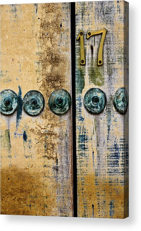 Door Acrylic Print featuring the photograph Door Number 17 In Mexico by Carol Leigh