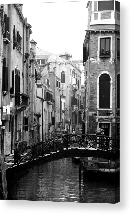Venice Acrylic Print featuring the photograph Gondola Ride In Venice by Greg Sharpe
