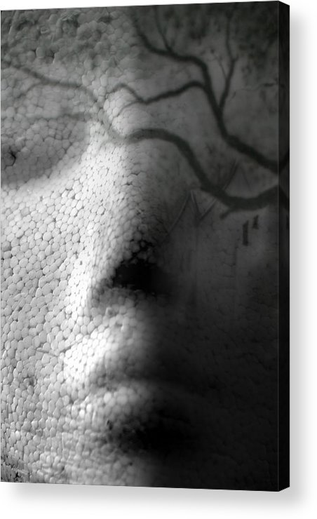 Head Acrylic Print featuring the photograph Illusionary Me by Steve Parrott