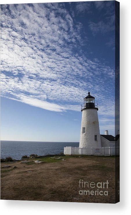 Pemaquid Acrylic Print featuring the photograph Pemaquid Lighthouse by Timothy Johnson