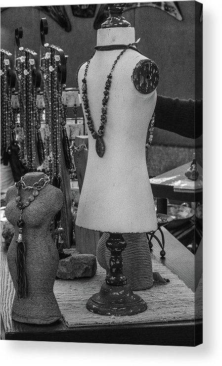 Mannequin Dolls Acrylic Print featuring the photograph Pizzazz by Marit Runyon