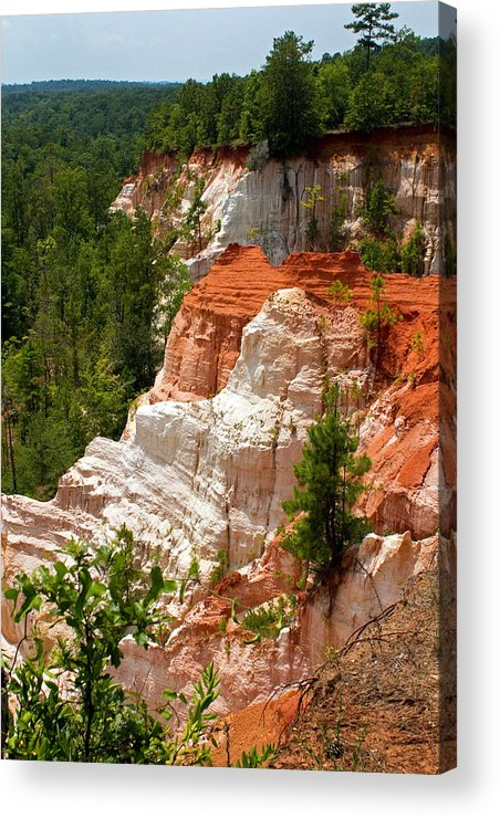 Providence Acrylic Print featuring the photograph Providence Canyon by Farol Tomson
