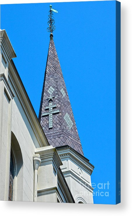 St. Louis Cathedral Acrylic Print featuring the photograph St. Louis Cathedral by Christine Dekkers