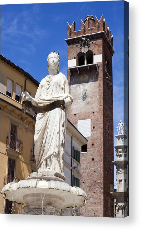Ancient Acrylic Print featuring the photograph Verona by Andre Goncalves