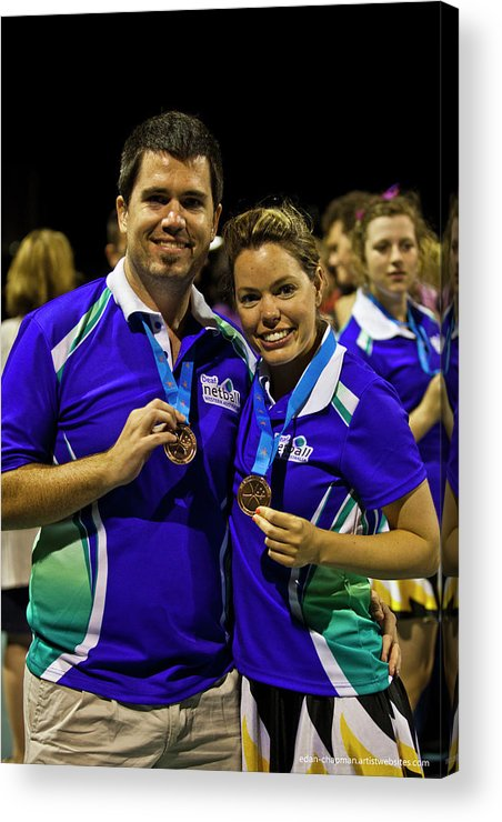 Deaf Acrylic Print featuring the photograph Australian Deaf Games 2012 by Edan Chapman