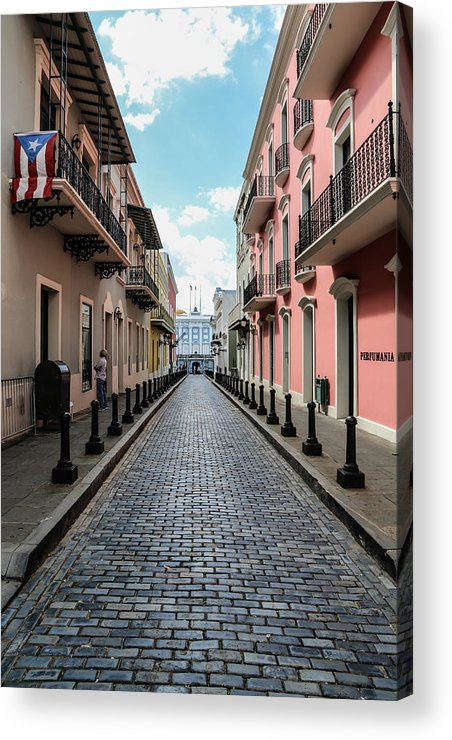 Old San Juan Puerto Rico Acrylic Print featuring the photograph Old San Juan Puerto Rico by Joseph Semary