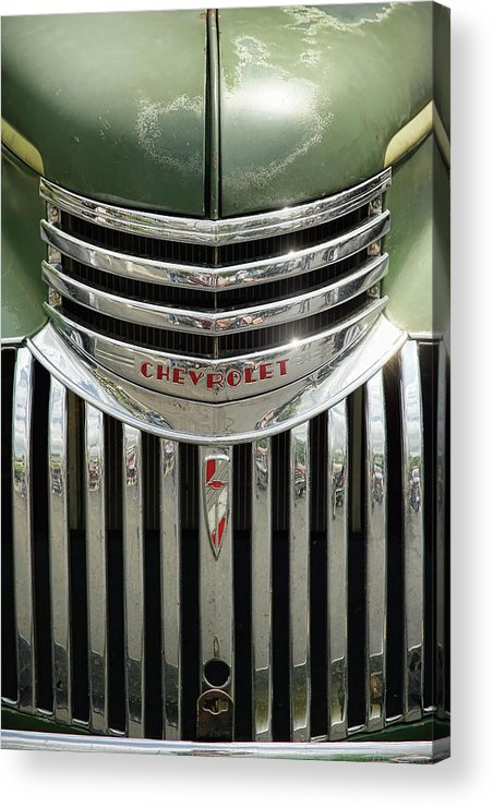 1946 Acrylic Print featuring the photograph 1946 Chevrolet Pick Up by Gordon Dean II