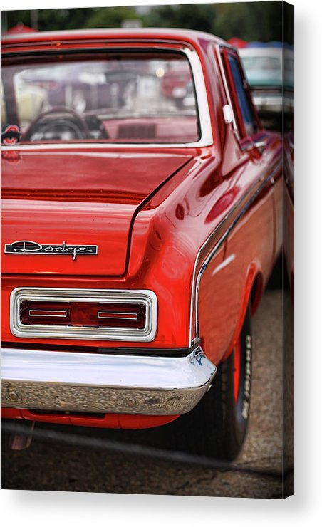 1963 Acrylic Print featuring the photograph 1963 Dodge 426 Ramcharger Max Wedge by Gordon Dean II
