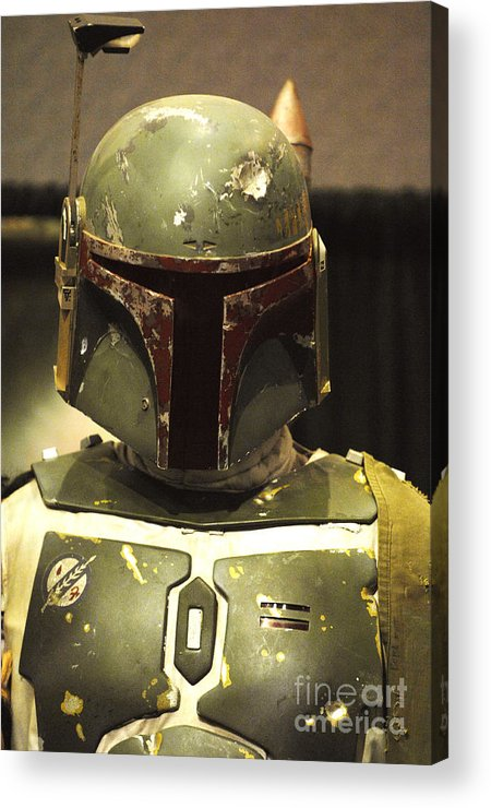 Boba Fett Acrylic Print featuring the photograph The Real Boba Fett by Micah May
