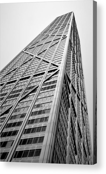 Geometric Acrylic Print featuring the photograph 360 Chicago by Michelle Calkins